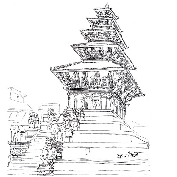 Temple Nepalais