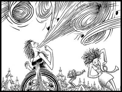 Femme De L'ogre Chantant