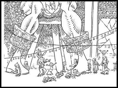 Femme De L'ogre Fête
