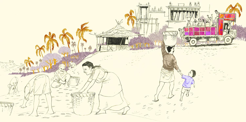 Lever De Pêcheurs à Goa