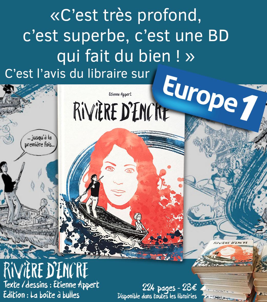 Rivieredencre Etienne Appert Europe 1