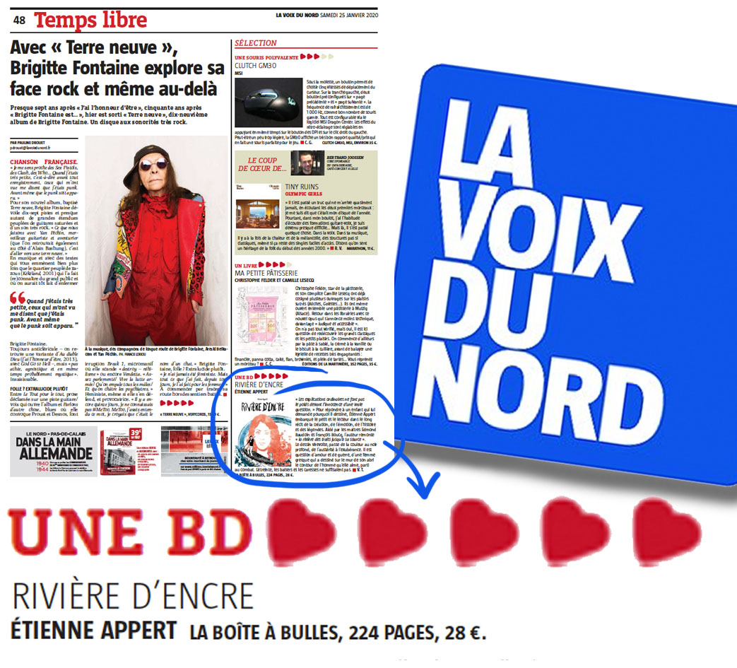 Rivieredencre Etienne Appert Voix Du Nord
