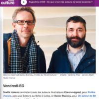 France Culture Invite Rivière D'encre