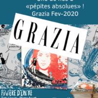 """Rivière D'encre """"Pépite Absolue"""" De Grazia !"""