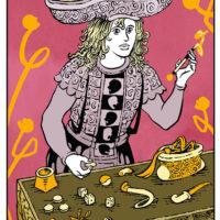 Redessiner Le Tarot : Le Bateleur